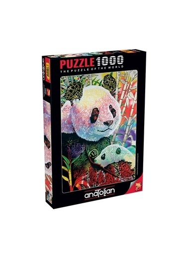 Anatolian  1000 Parça Panda 1099 Renkli